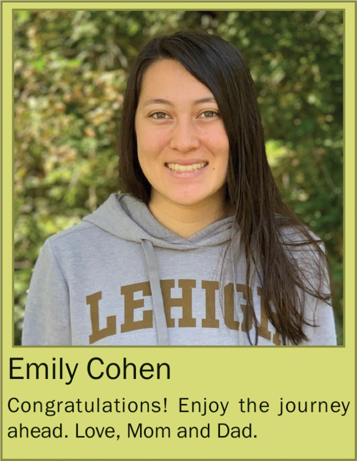 Emily Cohen May 2020