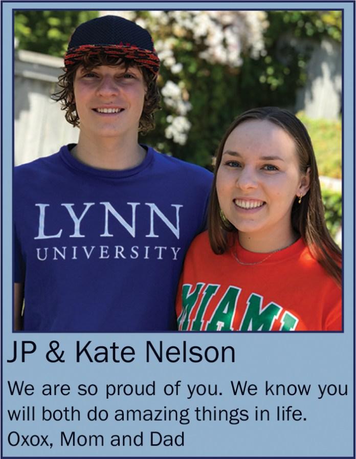 Kate & JP Nelson June 2020