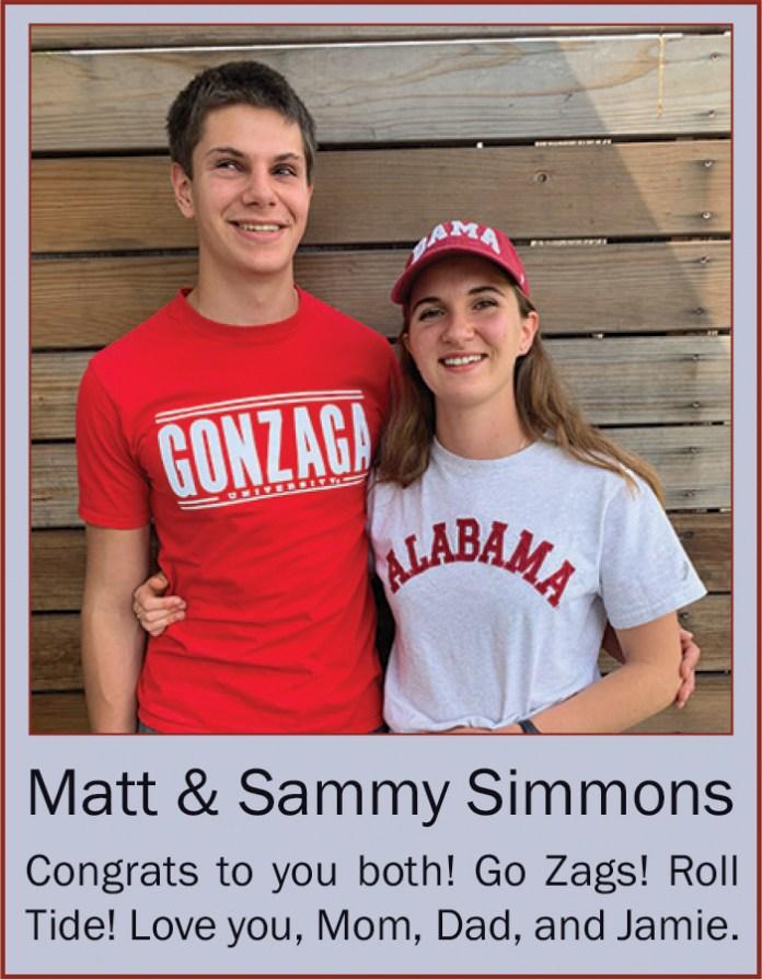 Matt and Sammy Simmons June 2020