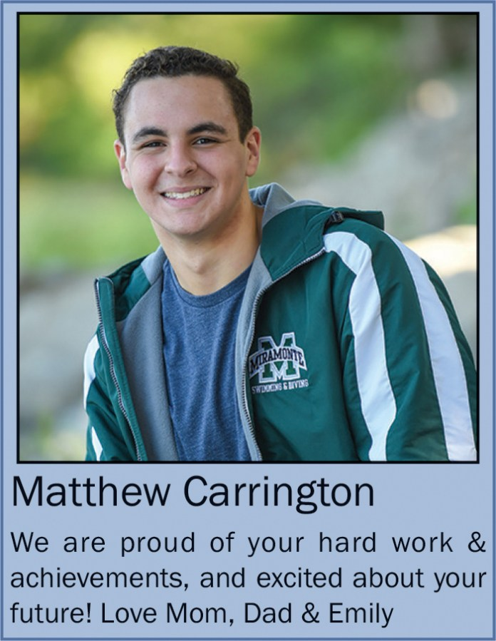 Matthew Carrington June 2020