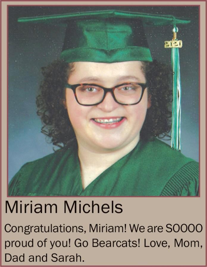 Miriam Michels June 2020