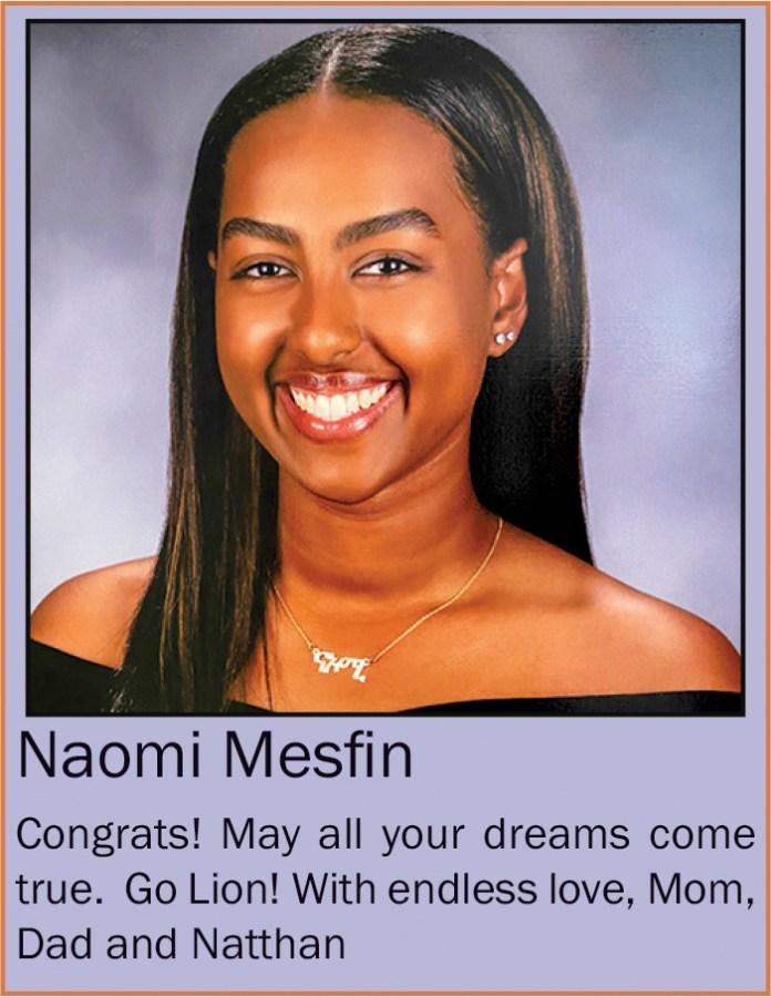 Naomi Mesfin June 2020