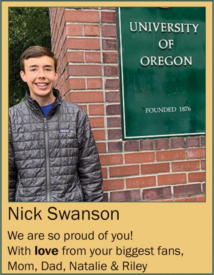 Nick Swanson June 2020