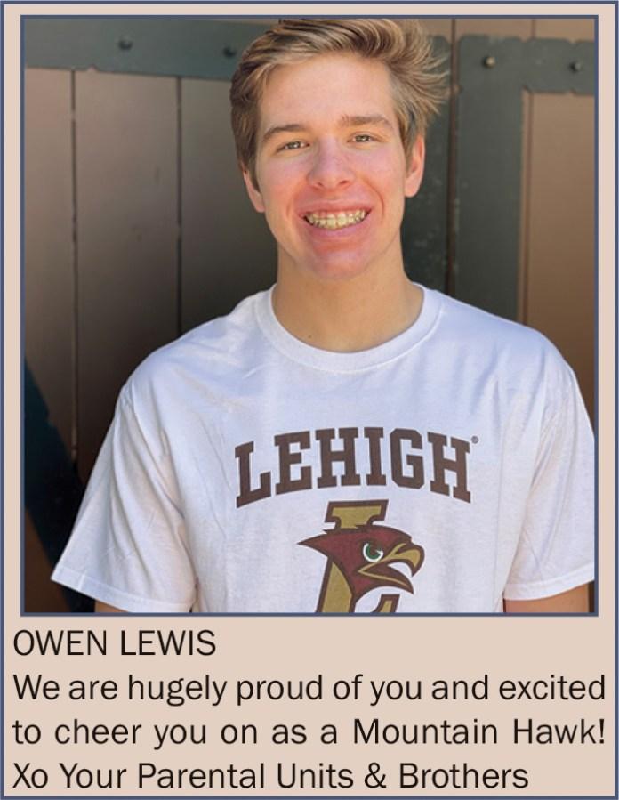 Owen Lewis June 2021