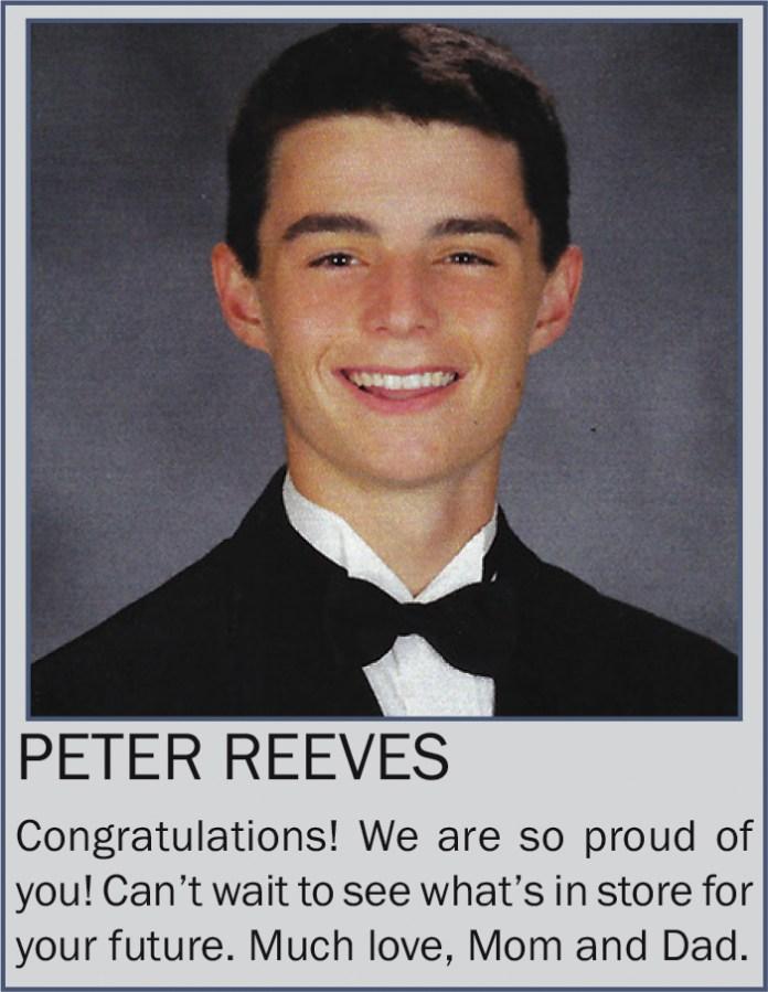 Peter Reeves June 2021