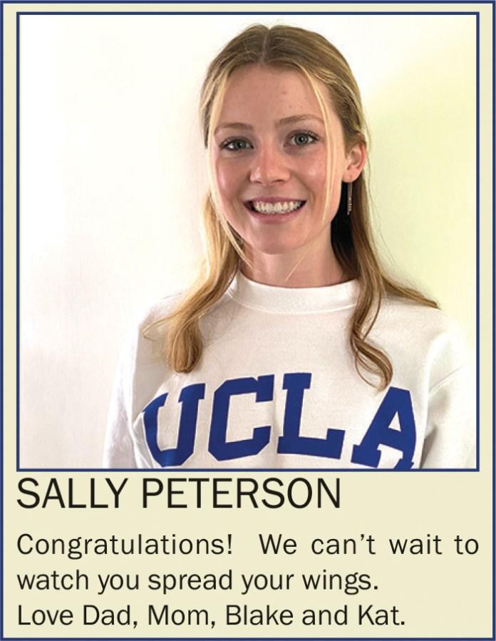 Sally Peterson June 2021