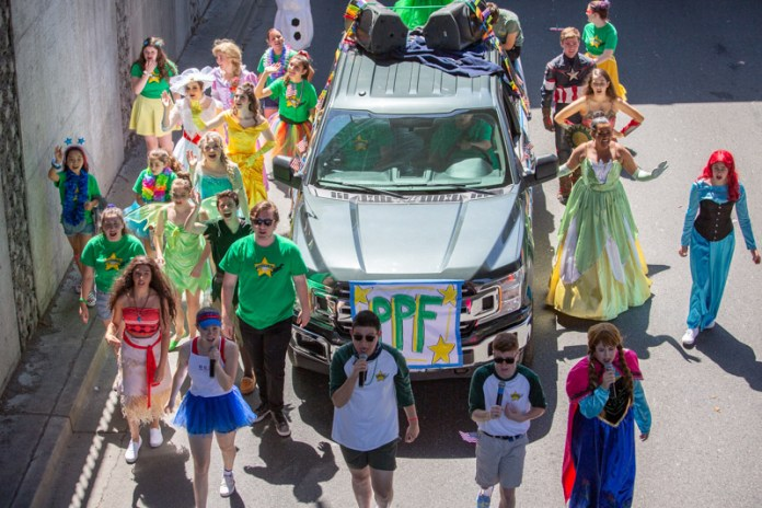 (Tom Lavin, Photographer)The Peter Pan Foundation will once again march in the parade.