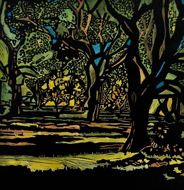 "Hallie Strock, ""Magical Forest"""