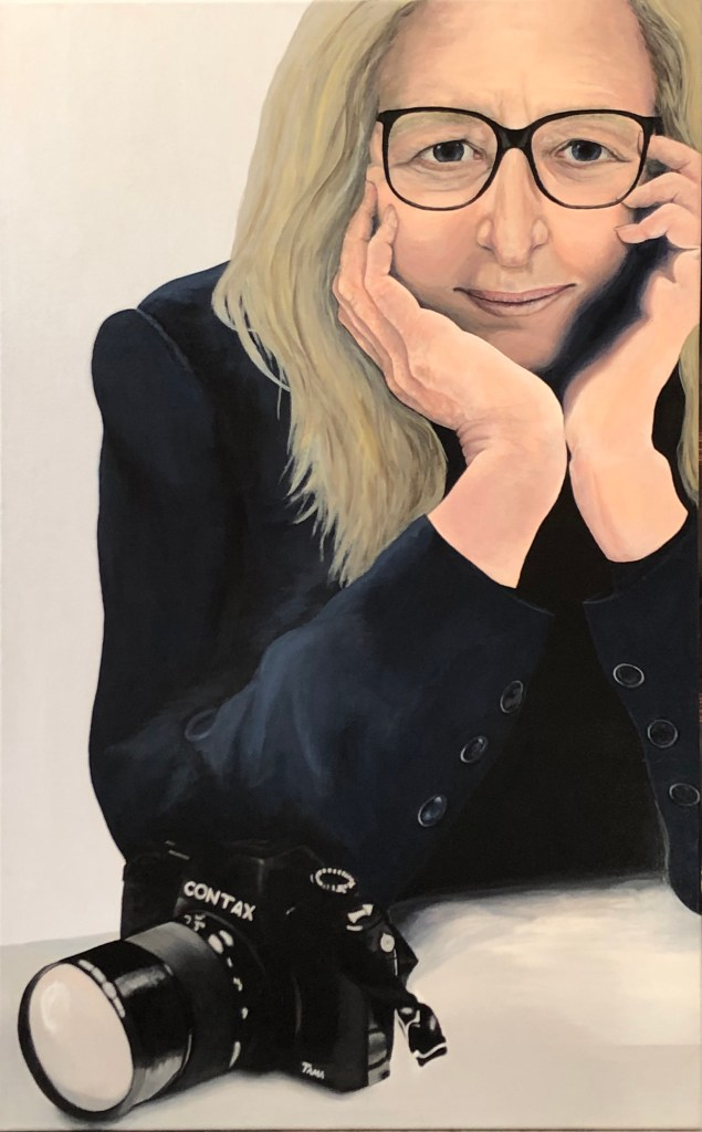 """Sharon Tama, """"Annie Leibovitz: Vision in Focus"""""""