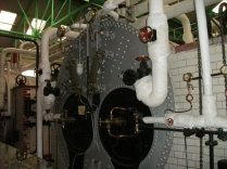 Inside the pumping station