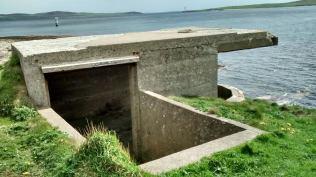 Stromness Battery 3 coast