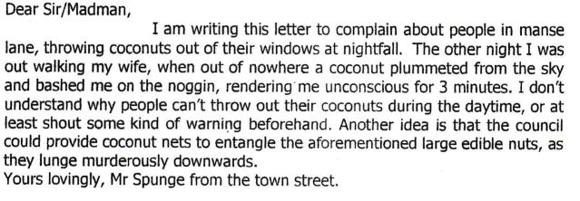 June letter archive