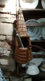 Spoon cubbie at Kibuster Farm Museum