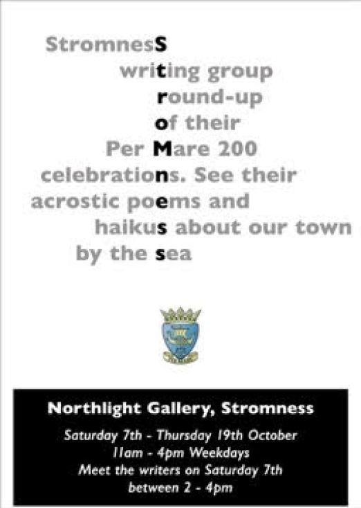 Stromness Writers Group