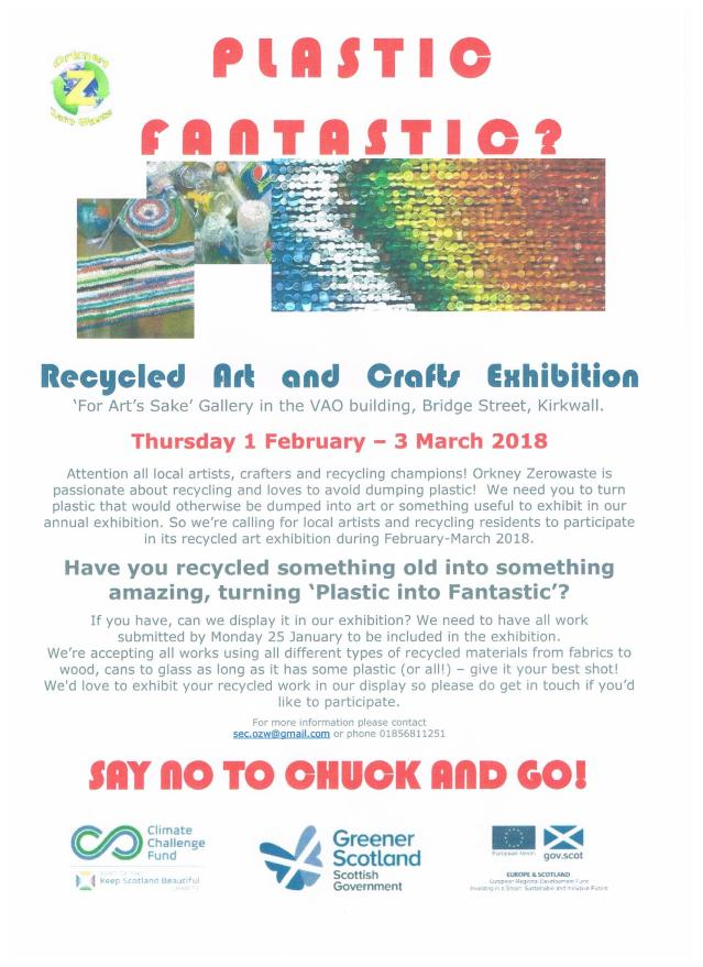 Orkney Zero Waste poster