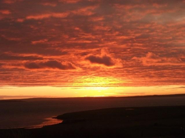 Bay of Hinderayre - sunrise