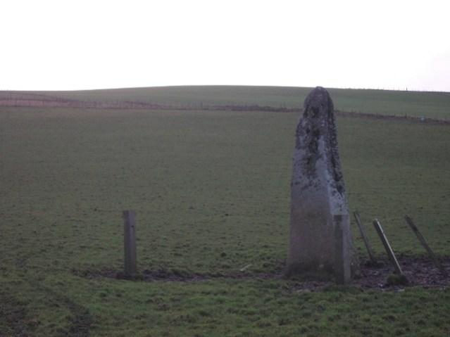 Birsay antigues centre stone The Stane O' Quoybune. no 7