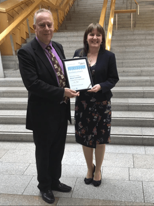 Carer Positive Award to Maree Todd