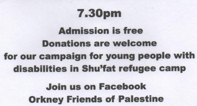 Orkney Friends of Palestine