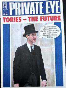 private eye Jacob Rees Mogg
