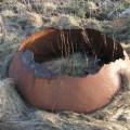 Round rusty thing B Bell