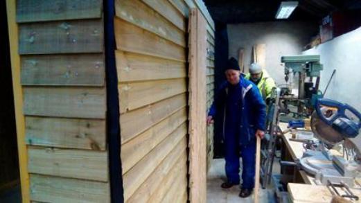 shed for Blue Door 2 N Morrison
