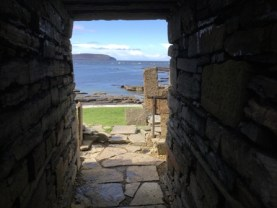 Broch of Midhowe Rousay