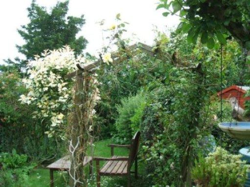 garden at Clermiston