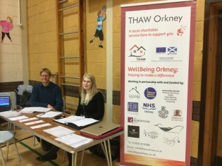 THAW at Hoy event