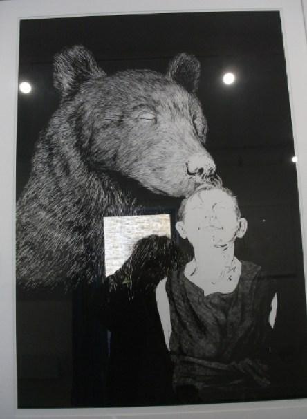 Bears Hardiman exhibition B Bell