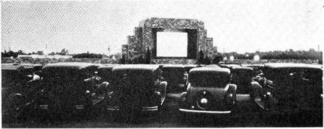 First_drive-in_theater_Camden_NJ_1933
