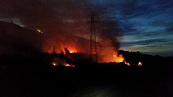 Fire in Golspie