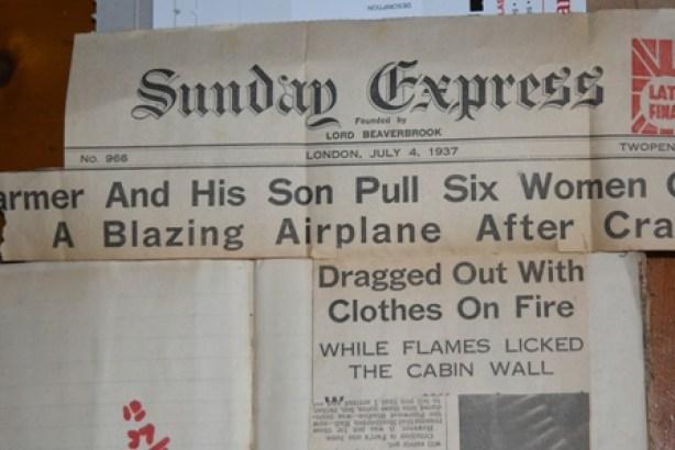 Headlines 1 plane crash Noel