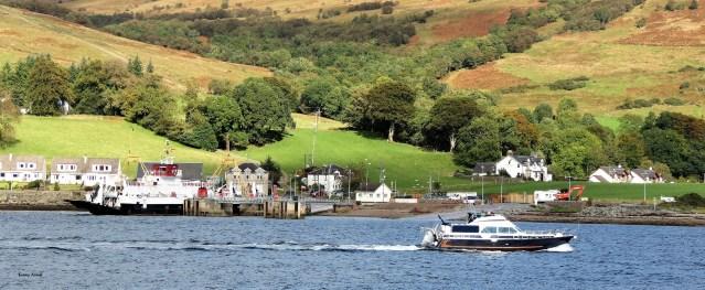 Rhubodach Ferry wiff Cruiser