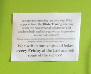 St Colms 18 veg notice