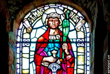 St Magnus Cathedral stained glass window martin laird