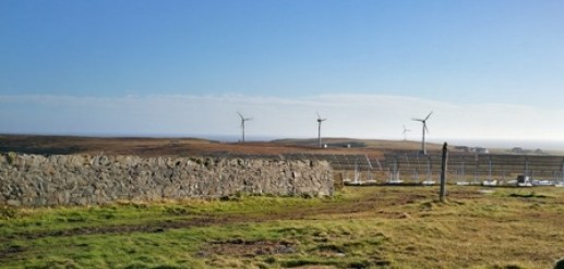 fair isle electricity scheme