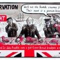 iscot orkney news cartoon frankin john rae martin laird