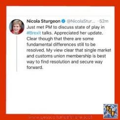Nicola Sturgeon on Brexit