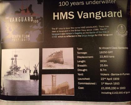 Scapa 100 HMS Vanguard