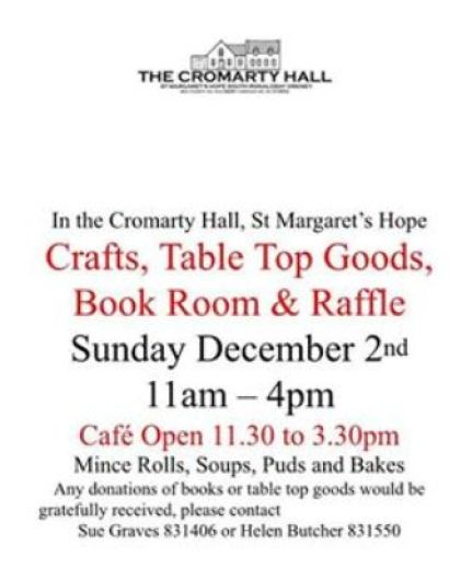 Cromarty Hall crafts