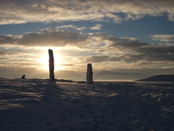 Brodgar in the snow B Bell