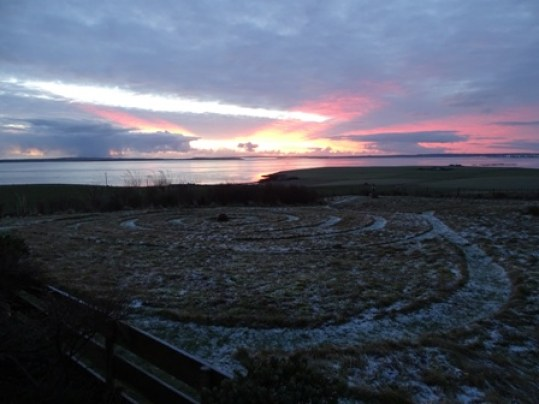 orkney sunrise mike bell 24 jan 2019
