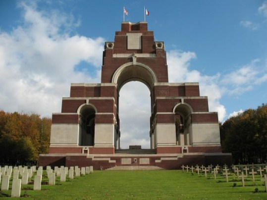Somme ThriepvalWorld war 1