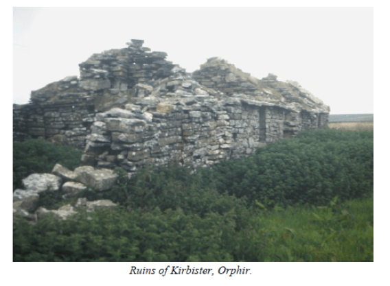 Ruins of Kirbister Orphir