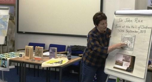 Inga Adams talk on John Rae 1