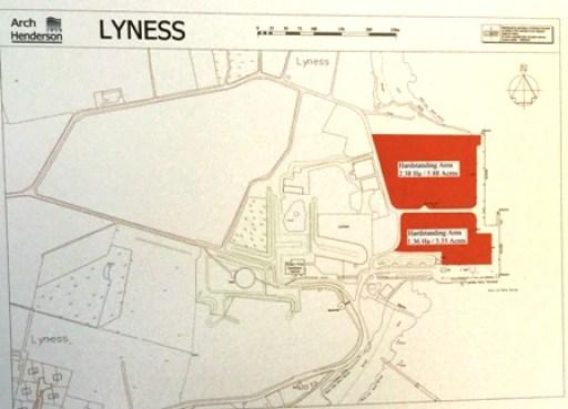 Lyness Harbour plan
