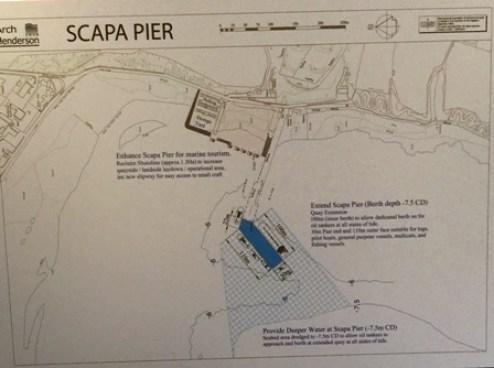 Scapa Pier plan