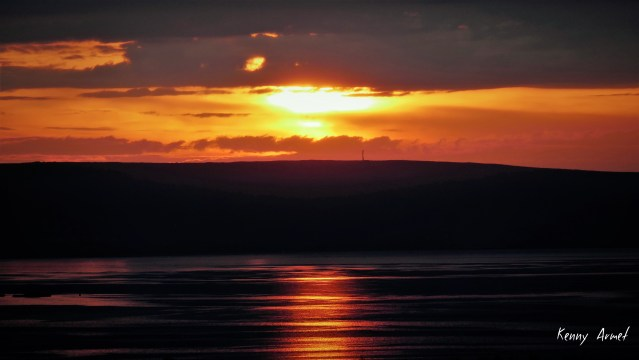 2 Sunset Kirkwall Bay 16th July 19