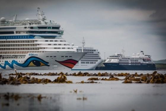 Cruise ship image - credit Magnus Budge